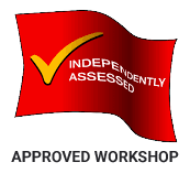 We are an approved workshop